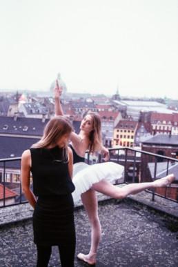 Katrine Elbo og Astrid Elbo